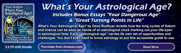 What's Your Astrological Age? by dane Rudhyar