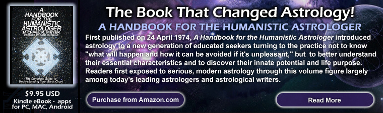 A handbook fof the humanistic astrologer