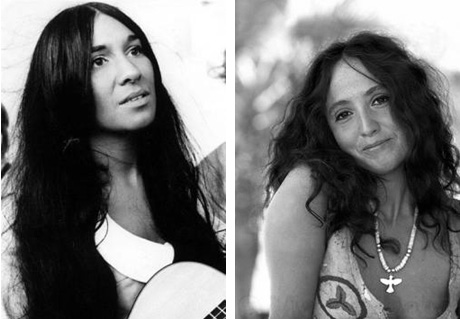 buffy saite-marie and maria muldaur.